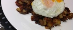 Corned Beef Hash…New York Style (almost)