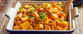 Spicy Chickpeas & Roasted Butternut Squash